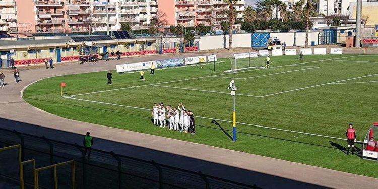 FC Messina sconfitto a Giugliano