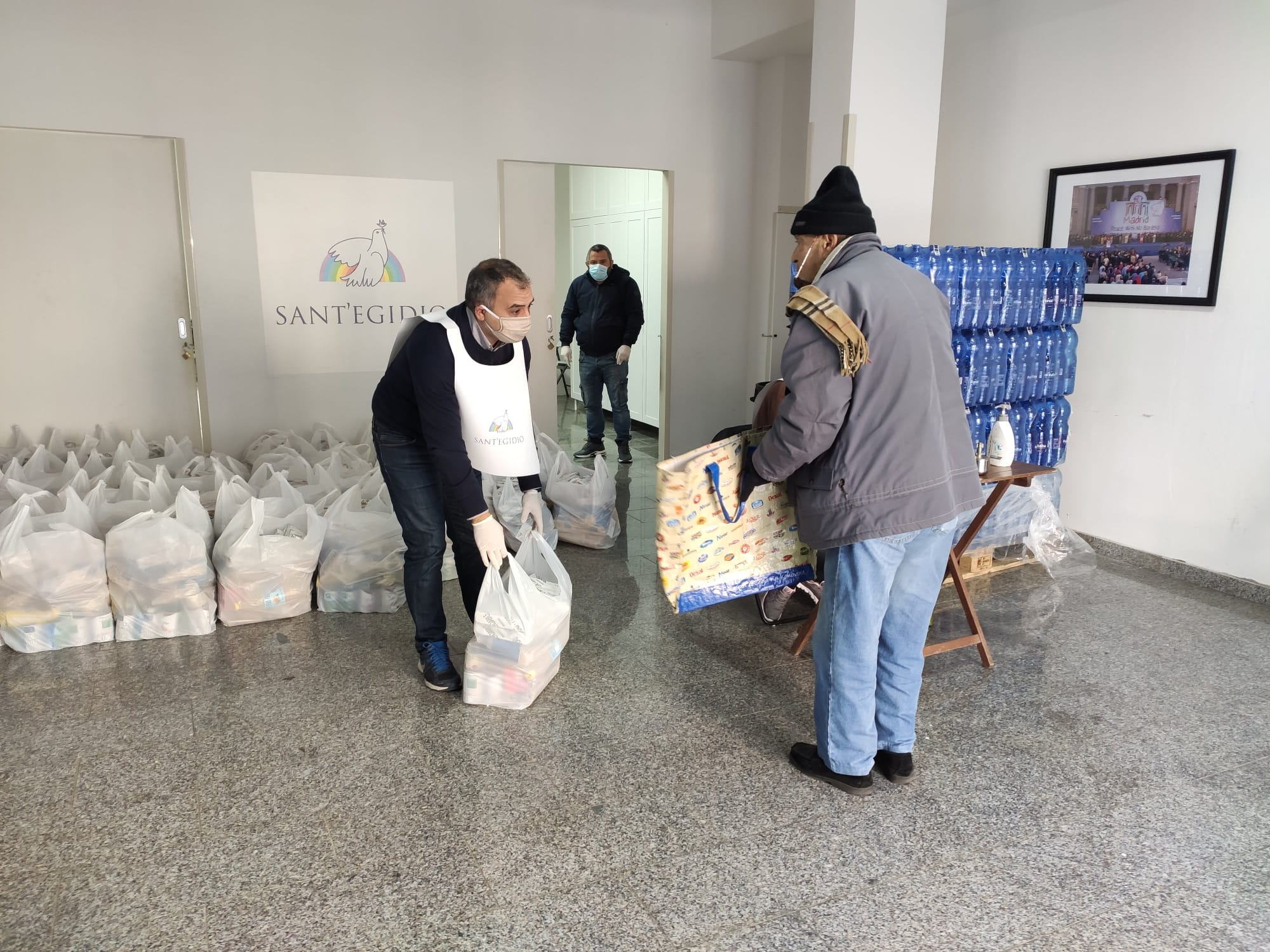 Gara di solidarietà, Faranda stacca assegno e sostiene 1000 famiglie
