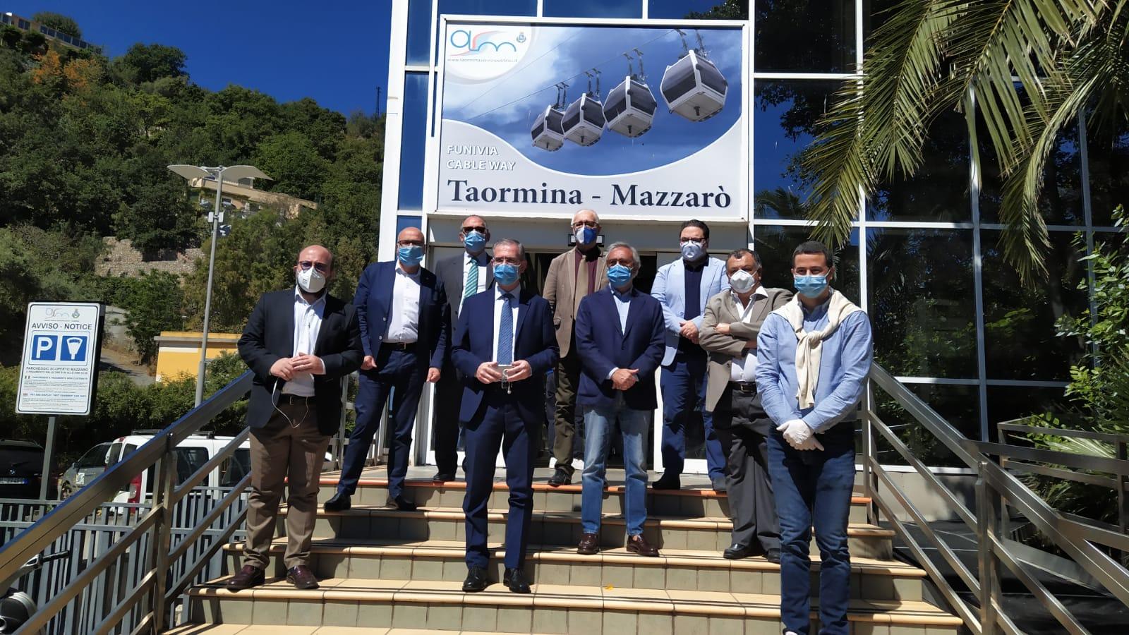 """Riparte la funivia di Taormina, Bolognari: """"Dobbiamo farci trovare pronti"""""""