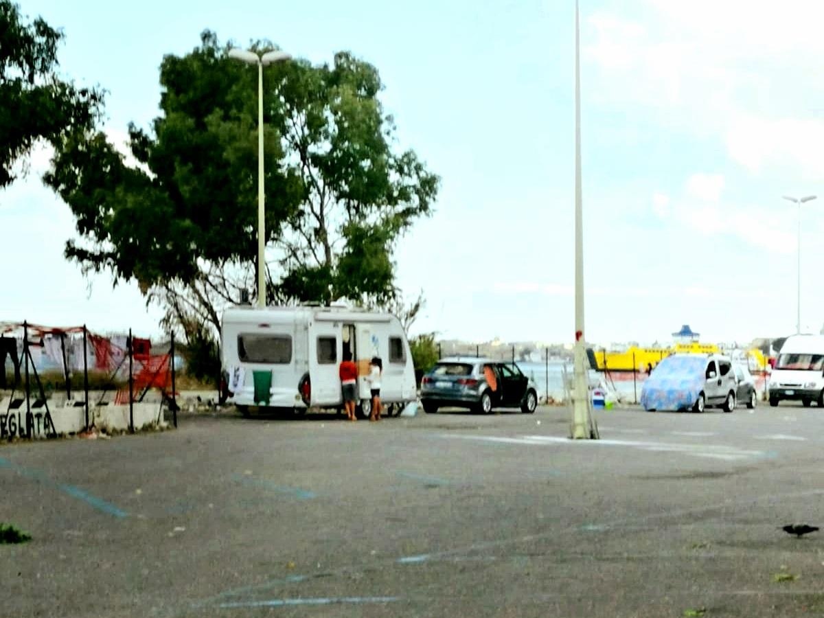 Avvistato camper nomadi vicino il Baby Park