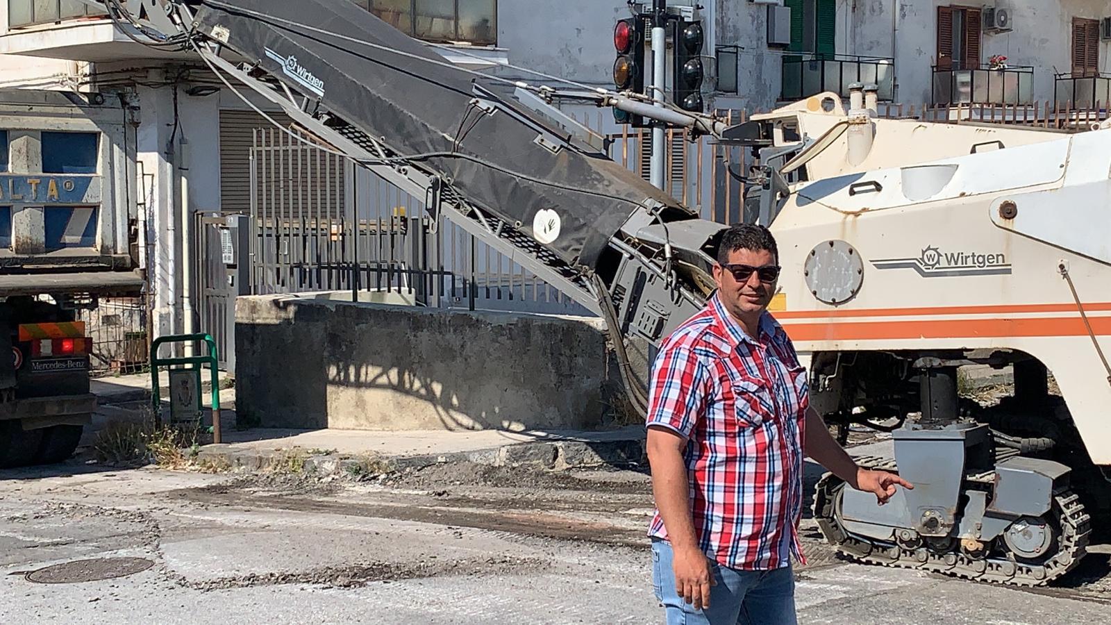 Giostra, proseguono i lavori per il restyling di viale Aranci