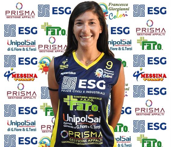 VOLLEY FEMMINILE SERIE B2 – Messina Volley conferma l'alzatrice Michela Laganà