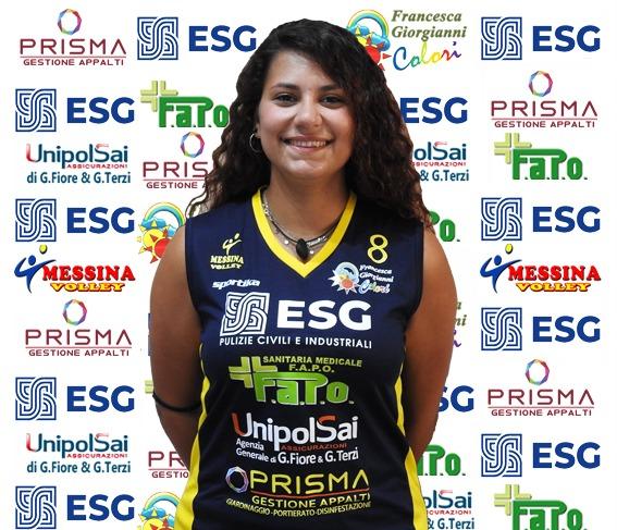 VOLLEY FEMMINILE SERIE B2 – Giulia Mondello riconfermata tra le fila del Messina Volley