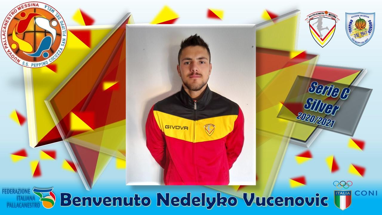 BASKET – Nuova Pallacanestro Messina ingaggia l'ala Nedeljko Vucenovic