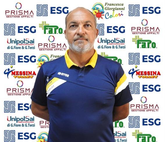 VOLLEY – Messina Volley: Domenico Rizzo dice la sua su preparazione e campionato