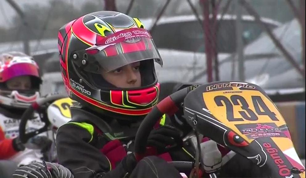 KARTING – Salvatore Alfio Sardo campione italiano categoria 60 Minikart