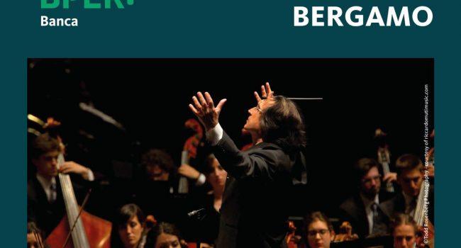 BPER dona a Bergamo un concerto di Riccardo Muti