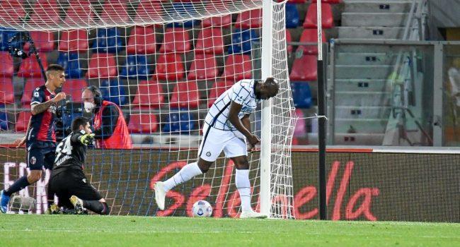 L'Inter vince a Bologna e allunga ancora, decide Lukaku