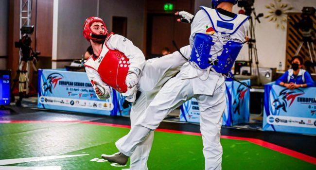 Bronzo per l'azzurro Roberto Botta agli Europei di Taekwondo