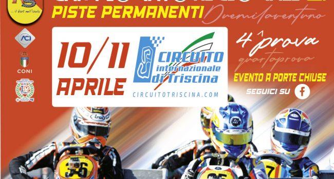 KARTING –  Al via la 4^ prova del Campionato Regionale sul circuito internazionale di Triscina