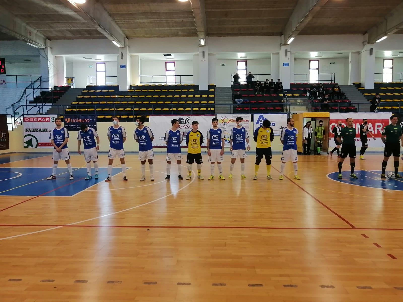 CALCIO a 5 – Siac Messina sconfitta sul campo della vicecapolista Polistena