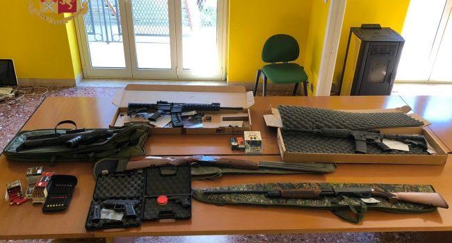 S. Agata Militello, sequestrati fucili e carabine