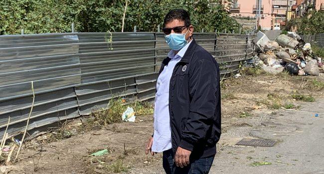 "Fondo De Pasquale, Bucalo ""urla"" e MessinaServizi pulisce"