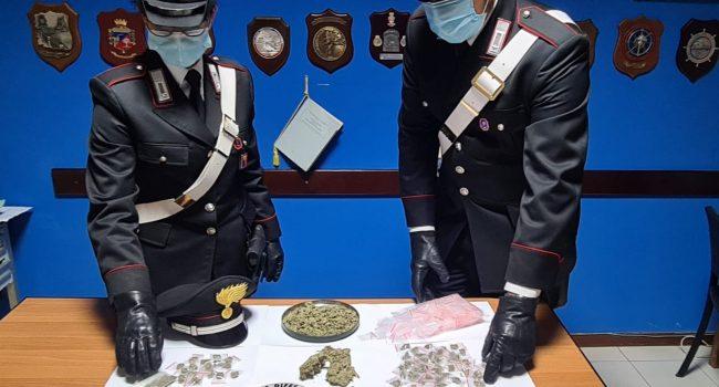 Droga, arrestato 28enne dai carabinieri