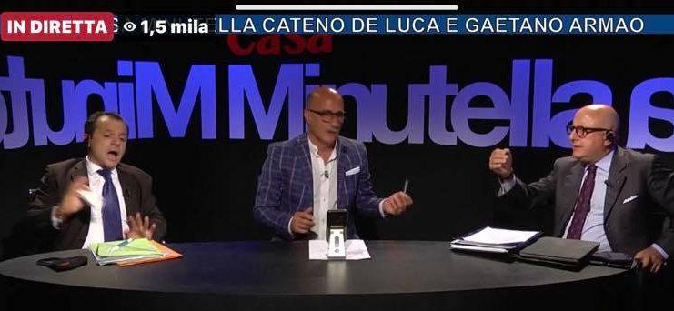 """Armao prende a """"pallonate"""" De Luca… Verità sui derivati"""