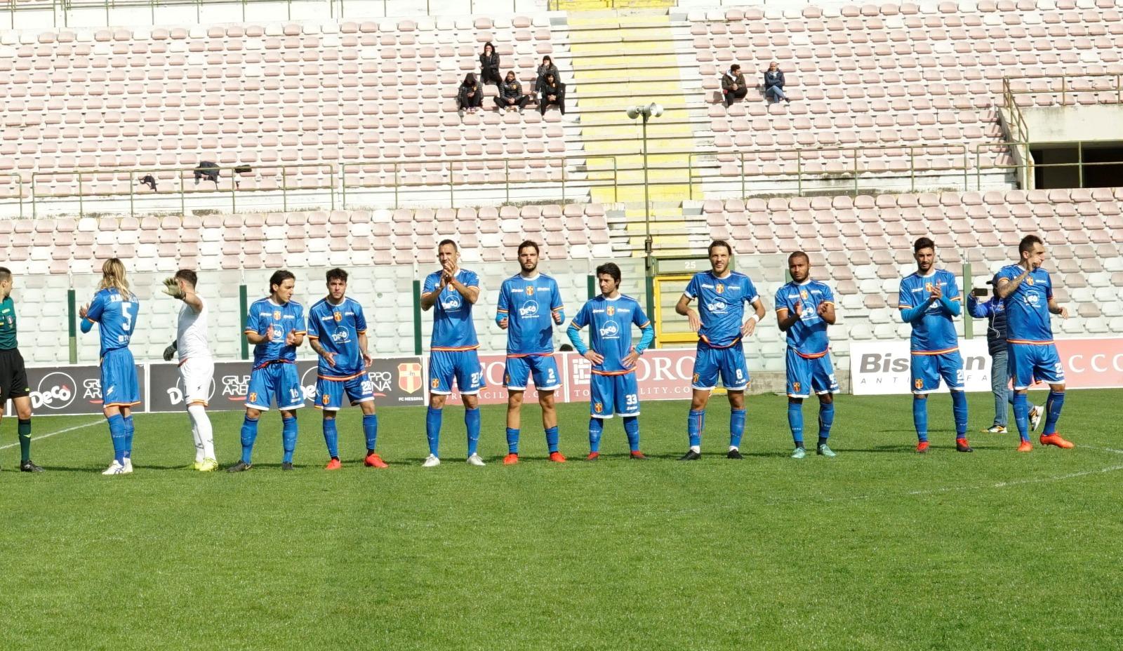 CALCIO – Fc Messina vince la finale col Gelbison e spera nel ripescaggio in serie C
