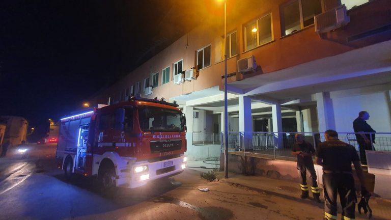 Bisconte, bruciano garage delle case popolari