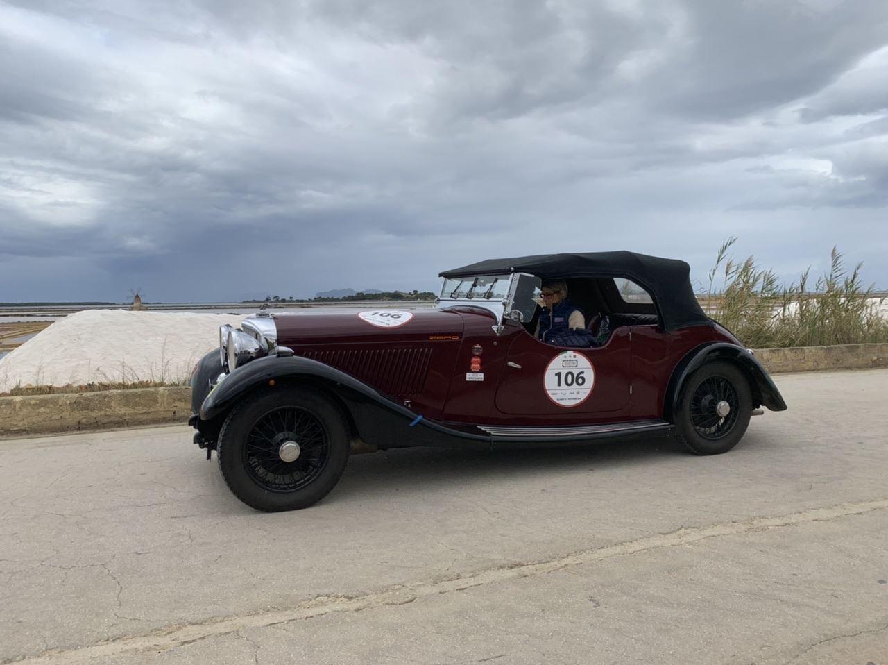 AUTO STORICHE – Tutto pronto per la Targa Florio tra le meraviglie della Sicilia